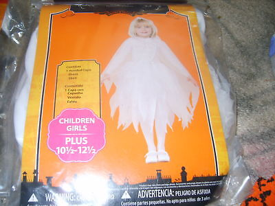 NWT Halloween Costume girls PLUS 10 1/2 - 12 1/2 Glimmer Ghost FAST SHIPPING
