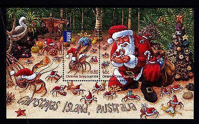 2014 Christmas Island Christmas - MUH Mini Sheet