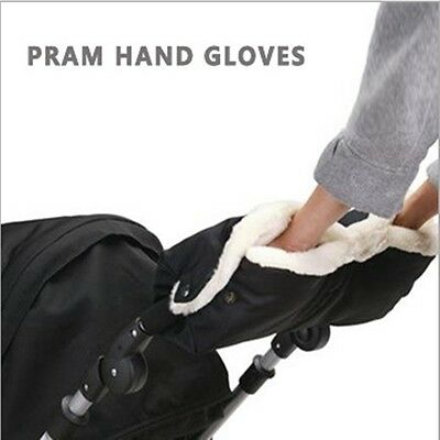 Winter Pram Warmer Gloves Gift Pushchair Hand Muff Waterproof Stroller Accessory