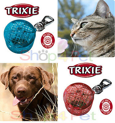 TRIXIE SAFER LIFE FLASHER for DOGS & CATS Flashing and Continuous Light Modes