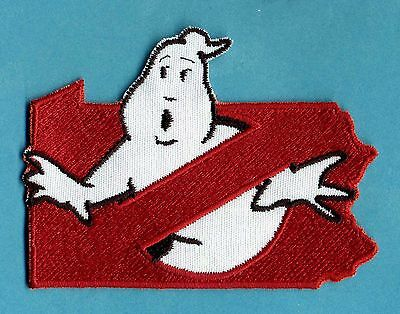 Pennsylvania State - Embroidered Ghostbusters No Ghost Iron-On Patch