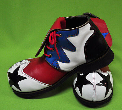 ZYKO Professional Real Leather Clown Shoes tongue Long model (ZH009)