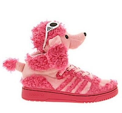 brand new b9e42 dd2b4 2013 Adidas Obyo X Jeremy Scott Poodle Originals Boots Js Pink Wings Uk 7.5