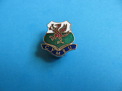 CYMRU Pin Badge. VGC. Unused. Hard Enamel. WALES.