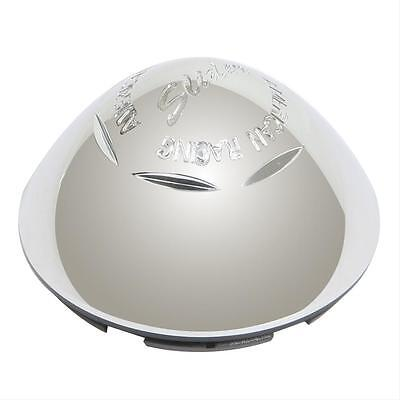 American Racing Center Cap Plastic Chrome Snap-In Dome Style Each