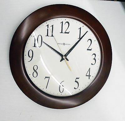 """Howard Miller Wall Clock -Corporate Wall 625-214 -  12.75""""  Round 625214"""