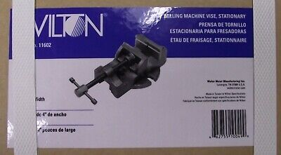 "Wilton 11602 4"" Milling Machine Vise Stationary"