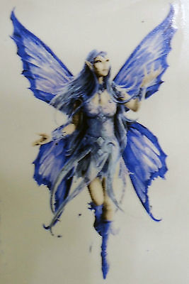 Blue Fairy Select-A-Size Waterslide Ceramic Decals