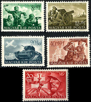 "WW2 Axis HUNGARY""Hung.Legion in East Front""full set,MNH."
