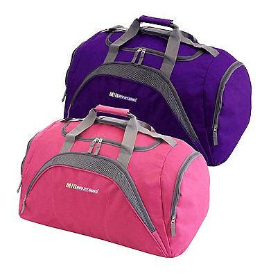 Ladies Large Big Sports & Gym Holdall Bag - SPORTS TRAVEL DUFFLE WORK LEISURE 26