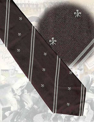 Welsh Districts Rugby Union, Wales 1970s - 10cm- RUGBY TIE