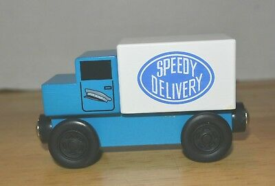 Brio Compatible Mr Rogers Mr McFeely Speedy Delivery Wood Train Truck Accessory