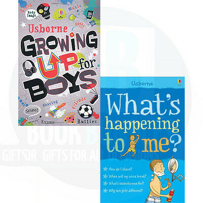 Growing Up for Boys Collection 2 Book Set(What's Happening to me,Growing Up for
