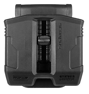 PS-9 FAB Defense Double Magazine Pouch for Ruger P89-P95 Series