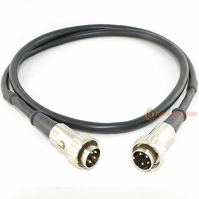 Snaic 4 Pin Din To 4 Pin Din Twist Lock Interconnect Cable For Naim Pre-Amp