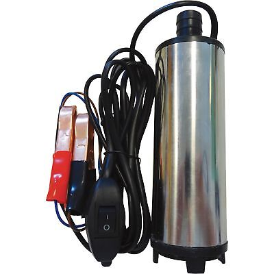 4 Seasons Supply Stainless Submersible Water Pump 1/2in Discharge 475 GPH 12V