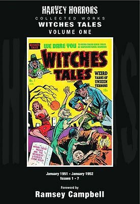 Harvey Horrors Collected Works Witches Tales Volume One (NM) `11