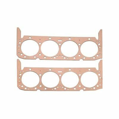 "Summit Racing Head Gaskets Copper 4.060"" Bore .043"" Compressed Thickness SBC Pr"