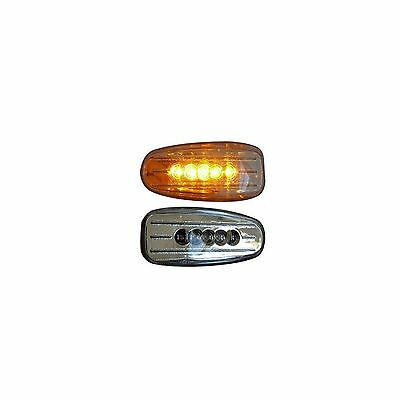 2x Smoke LED Side Repeater Indicators Marker Light Replacement 12v