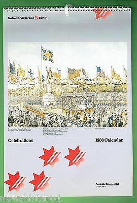 Year 1988  National Australia Bank  Bicentennial Calendar