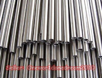 5 Pieces 304 Stainless Steel Capillary Tube Tubing OD 3mm x 2mm ID, Length 500mm