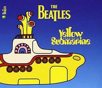 The Yellow Submarine Soundtrack - Beatles Compact Disc Free Shipping!