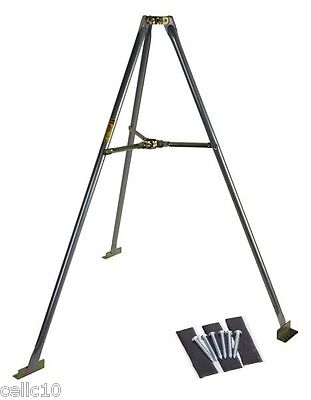 "5' Tripod & Lag Kit for  Masts up to 1-3/4"" - EZ 48-5A - USA Made Antenna Mount"