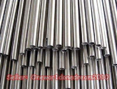 New 304 Stainless Steel Capillary Tube Tubing OD 8mm x 6mm ID, Length 500mm