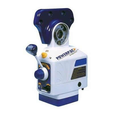 PF-X Hi-Torque Power Feed - Model .: PF-X   Speed: 4-160 RPM   TABLE FEED: Bridg