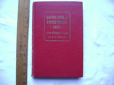 A Guide Book of United States Coins (Red Book). 17th edition. 1964. Hardcover.