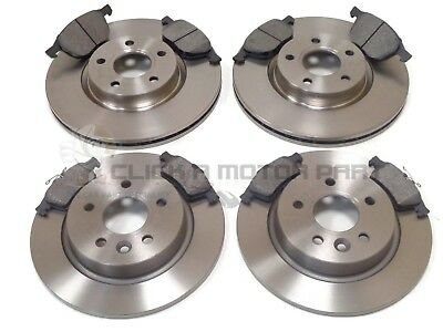 FORD FOCUS MK2 CC 2.0 2.0 TDCi 2005-2011 FRONT AND REAR BRAKE DISCS & PADS SET