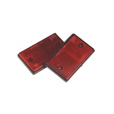 Sealey Reflex Reflector Red Oblong Pack of 2 Vehicle Towing Equipment TB24