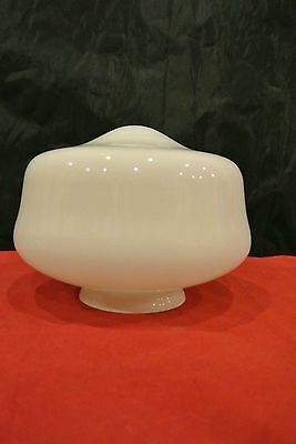 "Vtg. Small Light Lamp Shade Milk Glass 4-1/2"" H 5-1/2""D"
