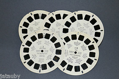 VIEW MASTER - 5 reels by Sawyers  VINTAGE Mother Goose