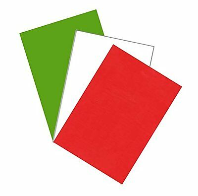Christmas Xmas Craft Card Making ~ Sheets Of A4 Red / Green / White / + Random