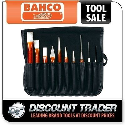 Bahco Pin Punch Chisel Set 10 Piece 3656/10