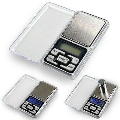 200g x 0.01g Digital Pocket Weighing Mini Scales For Jewlery Gold Kitchen 35DI