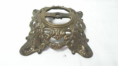 Vintage Metal Decorative Ceiling Fixture or Base of Some Type marked 271