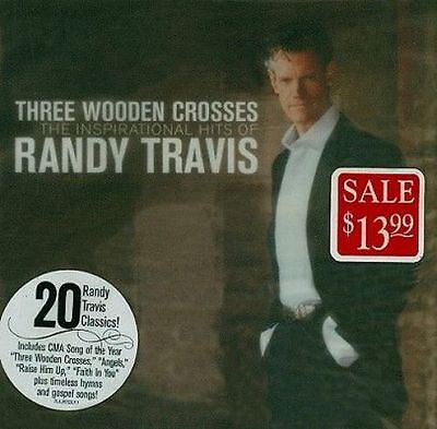 Three Wooden Crosses:inspirational Hi - Randy Travis New & Sealed Compact Disc F