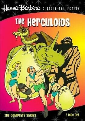 The Herculoids ~ The Complete Series (18 EPISODES) ~ BRAND NEW 2-DISC DVD SET