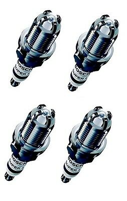 Bosch Super 4 Performance Upgrade Spark Plugs Set Of 4 For Toyota Yaris 99-05