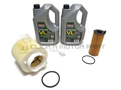 Audi A6 C6 2.7 Tdi 05-11 Oil Air Filter 10L Long Life Oil Service Kit Parts