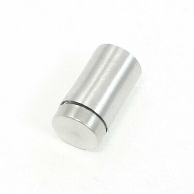 Stainless Steel Advertising Nail Glass Wall Connector Standoff 12mmx21mm