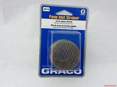 Graco Pump Inlet Strainer 183770 183-770
