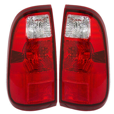 New Pair Set Taillight Taillamp Assembly DOT 08-10 Ford Super Duty Pickup Truck