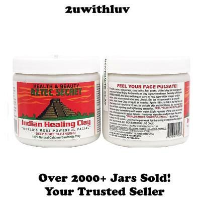 Aztec Secret Indian Healing Clay -Facials Acne Pore Cleansing Free & Fast Post