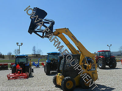 "HLA 96"" Skid Steer Quick Attach High Dump, Hi Dump Bucket: Adds Up To 4' Reach!"