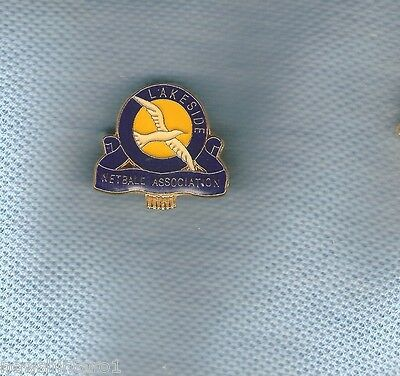 Lakeside Netball  Club  Lapel Badge, Bird Theme