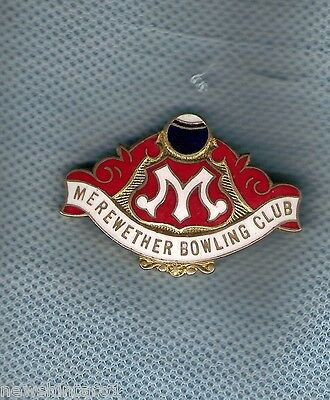 Merewether   Bowling Club  Lapel Badge
