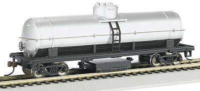 NEW Bachmann Track Cleaning Car Unlettered Silver HO 16304